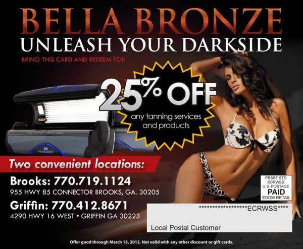 Bella bronze unleash your darkside