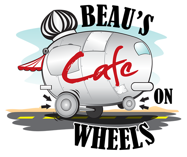 Creative brand identity - Beaus cafe on wheels